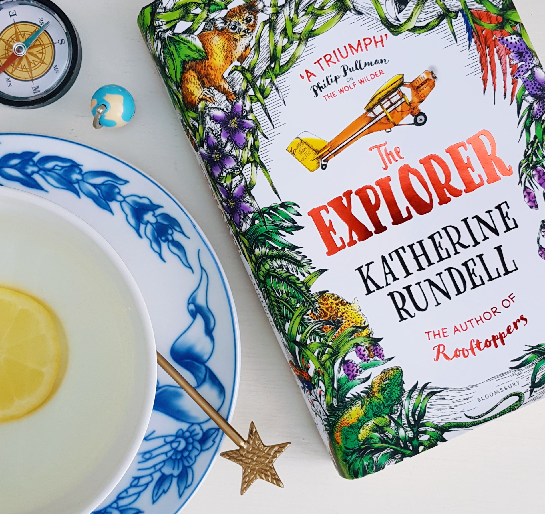 The Explorer by Katherine Rundell book cover