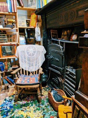 basement at scriveners books