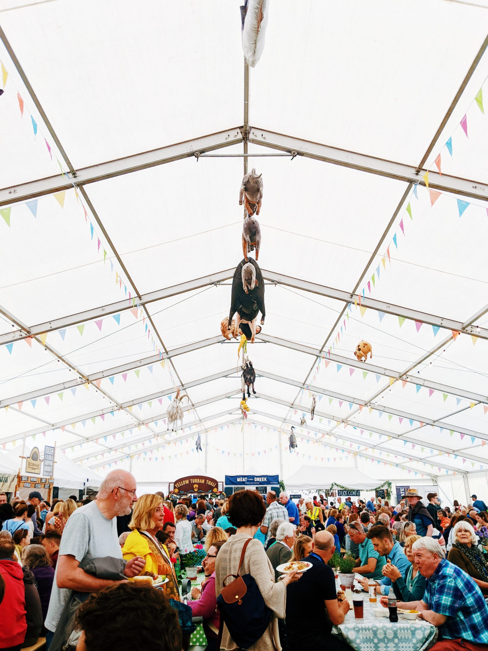 Food Hall Hay Festival
