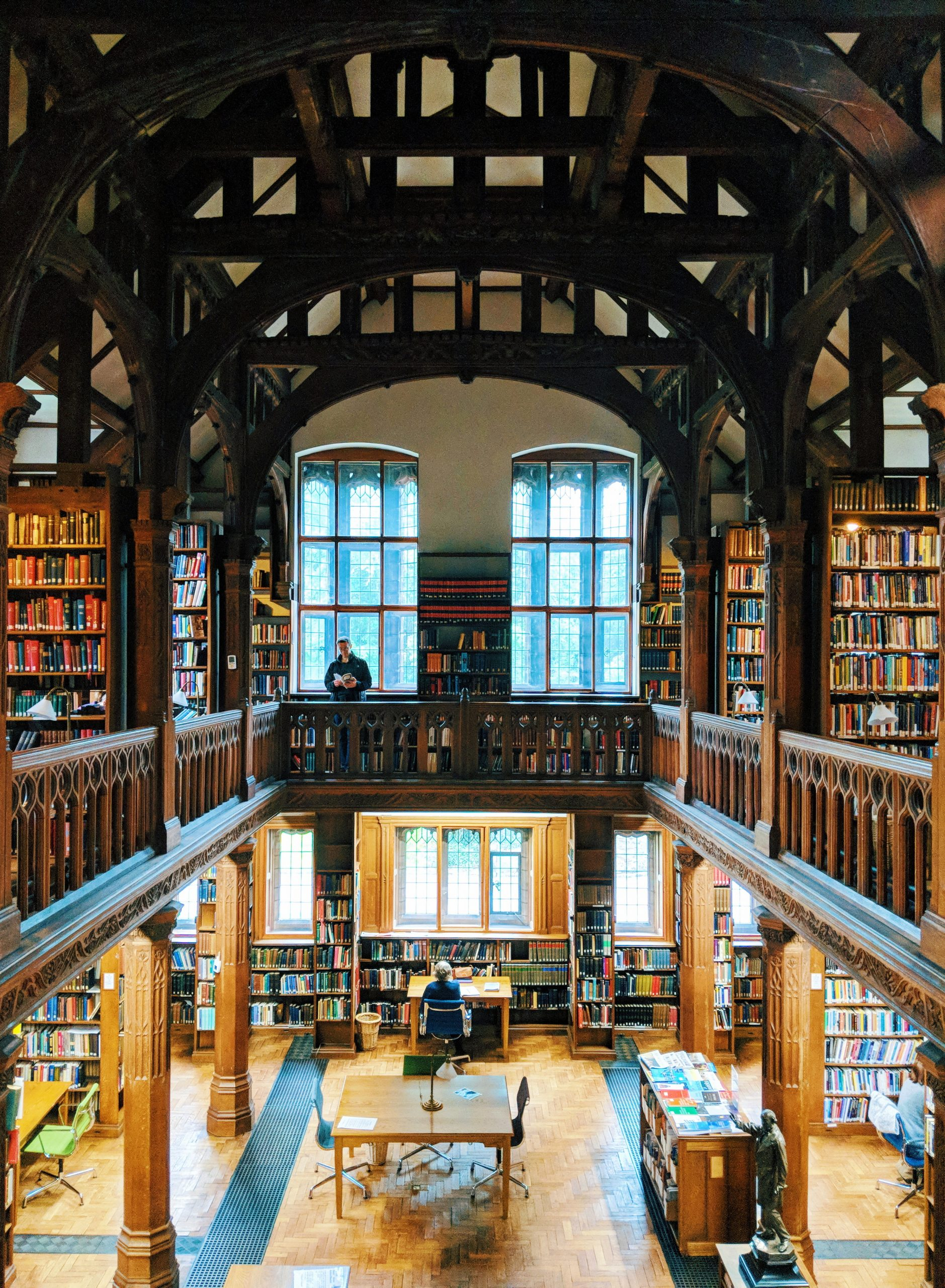 An overnight stay at Gladstone's Library