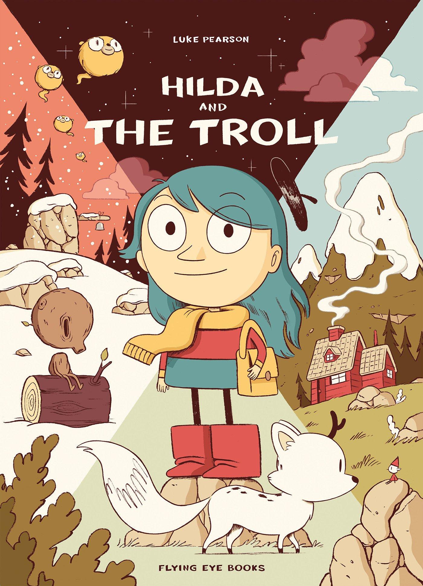 Hilda and the Troll Cover