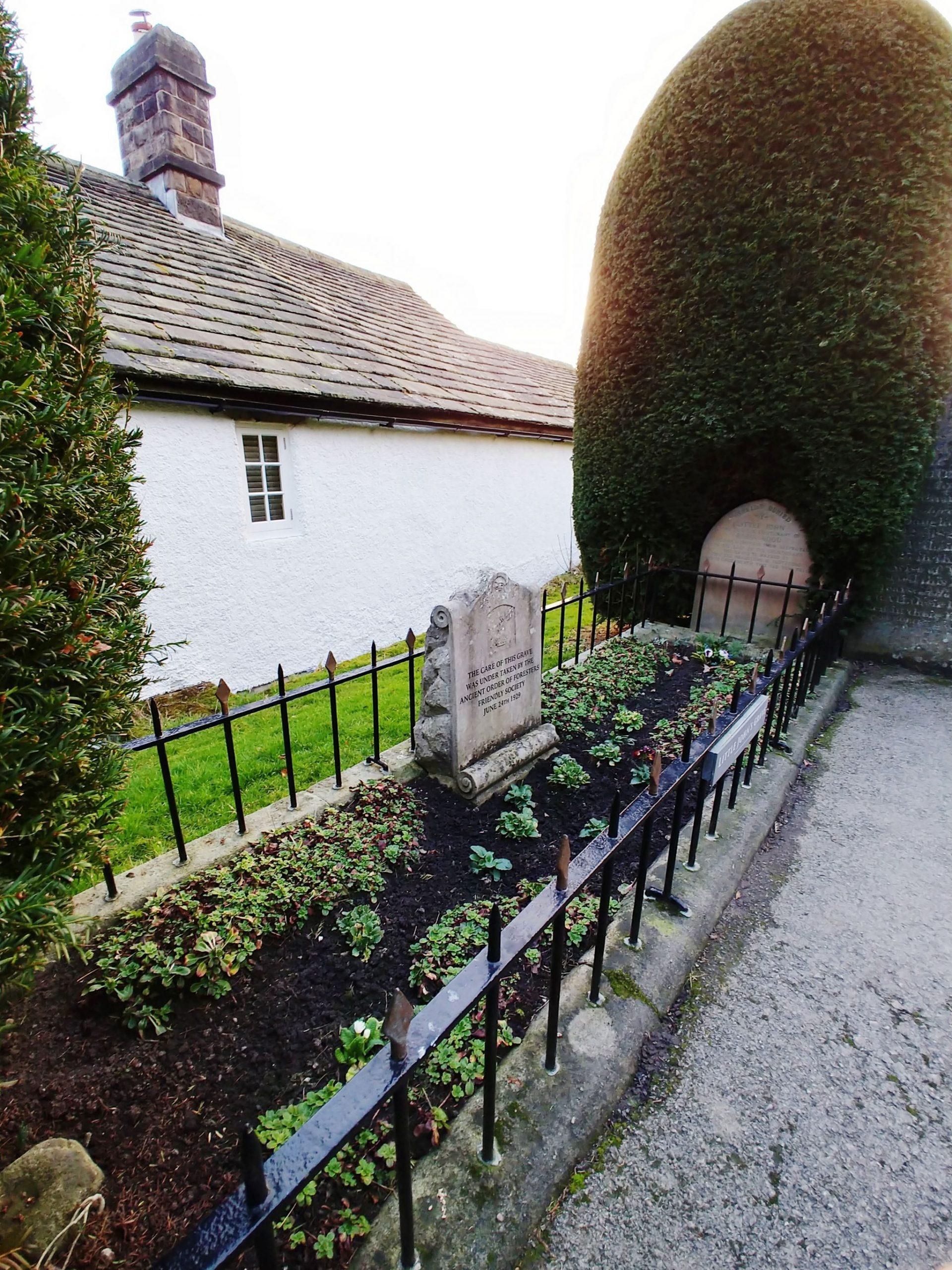 Little John's Grave (Robin Hood) Jane Eyre Trail