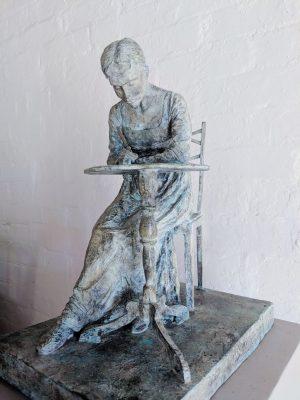 Jane Austen sculpture