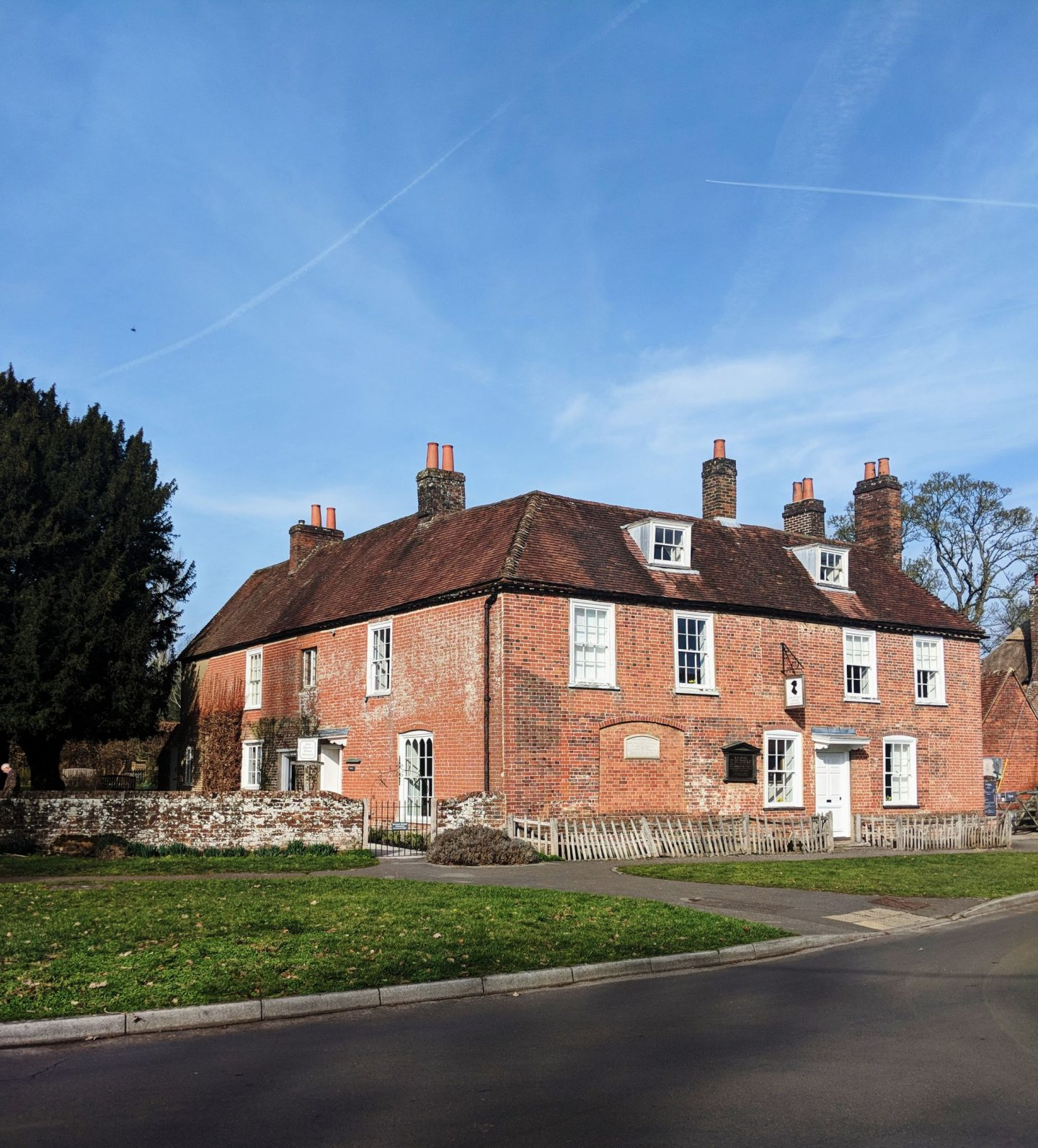 Jane Austen's House Museum Frontage