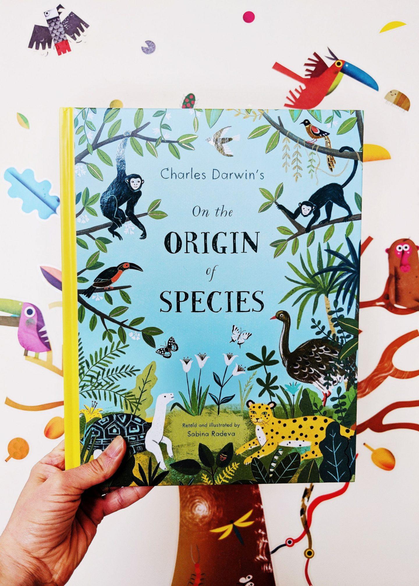 On the Origin of Species by Sabina Radeva Book Cover