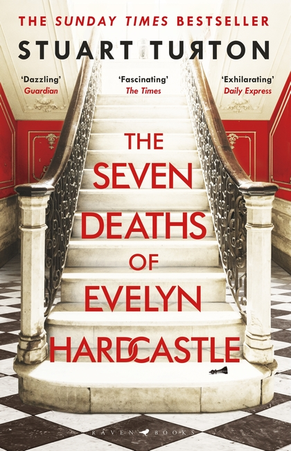 The Seven Deaths of Evelyn Hardcastle UK Cover