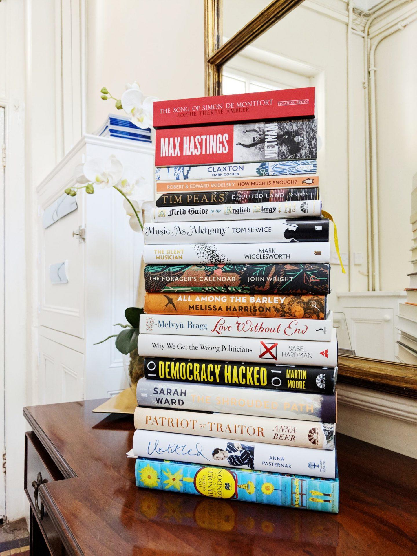 Festival bookstack