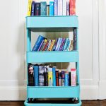 Book trolley storing TBR pile