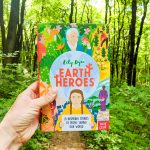 Earth Heroes by Lily Dyu book cover in a forest