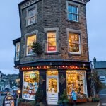 The exterior of Scriveners Books Buxton