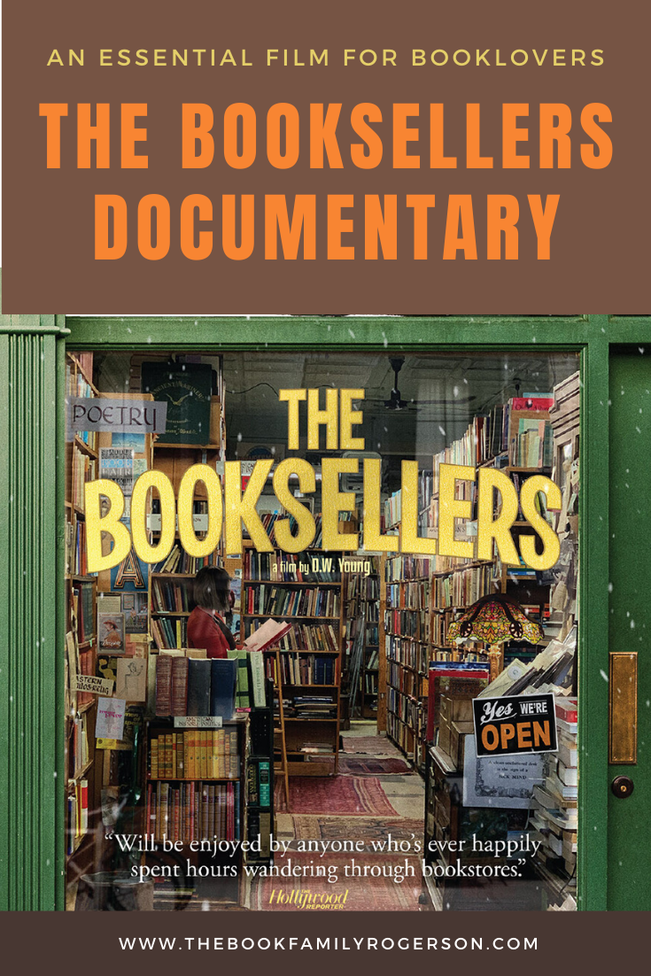 The Booksellers Documentary Pinterest Pin The BFR