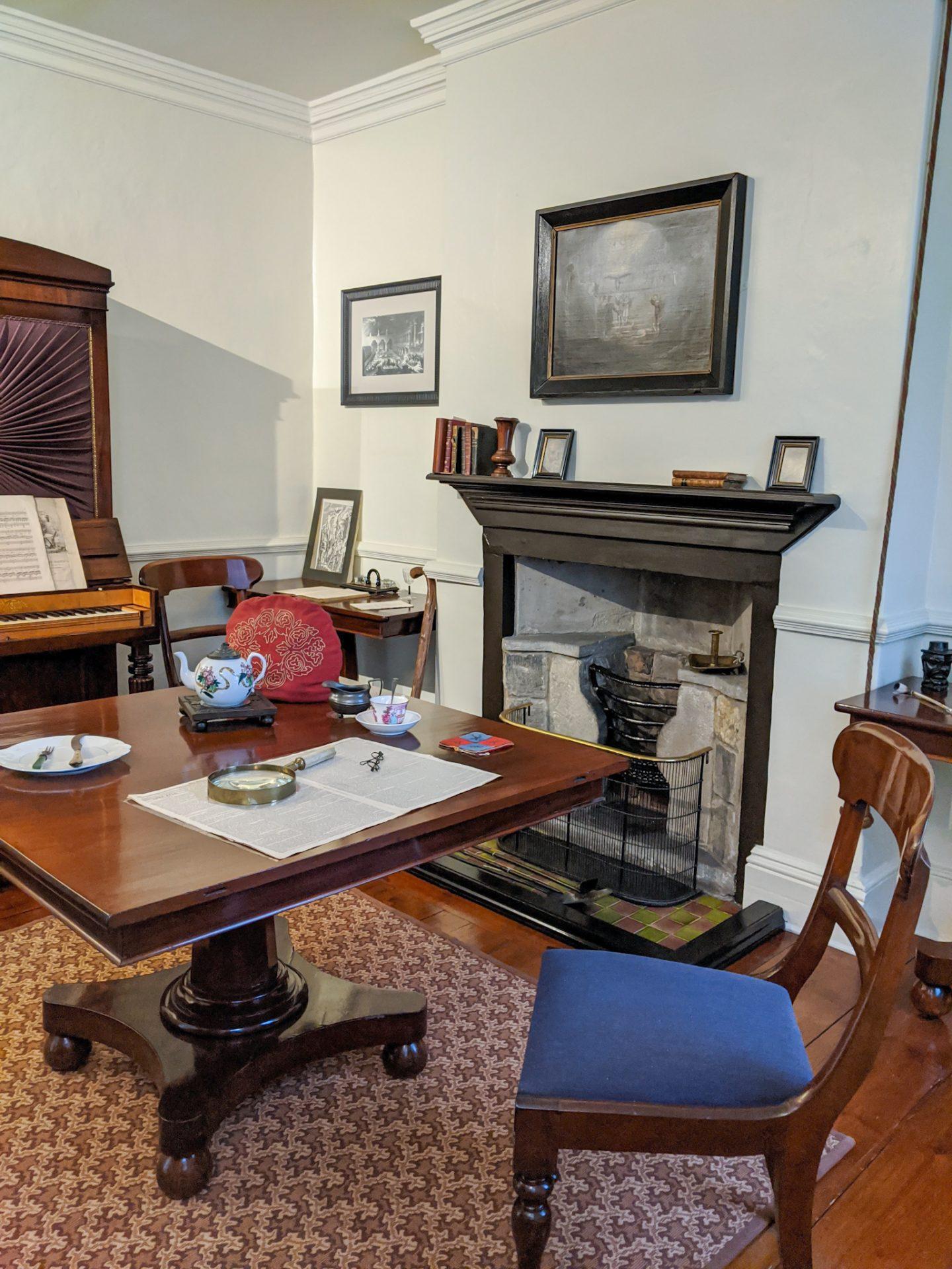 Mr Brontë's Study at the Parsonage Museum