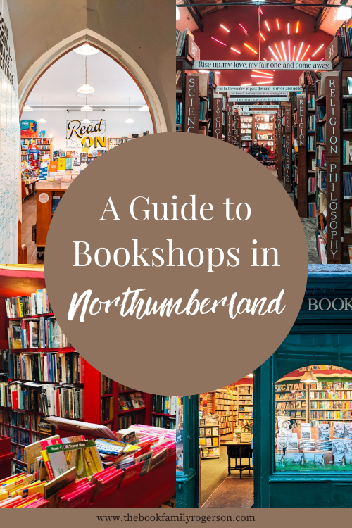 Photographs of four independent bookshops in Northumberland