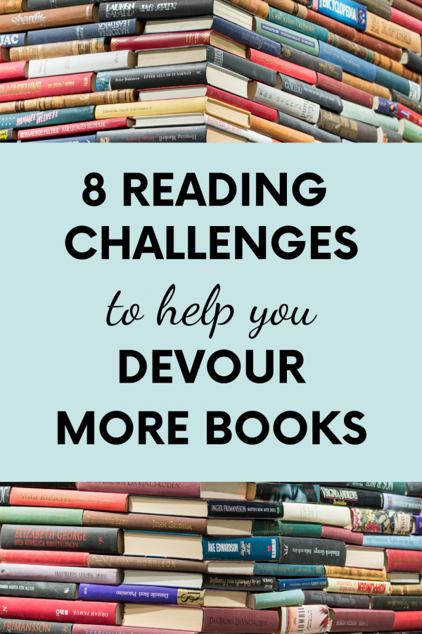 Devour More Books with these 8 Reading Challenges